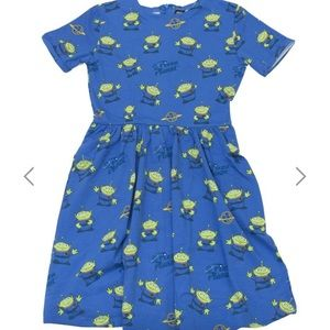 Toy Story PizzaPlanet Alien dress